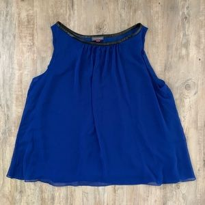 Vince Camuto Women's Blue Blouse Size Large